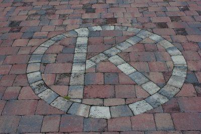 Rustic OK Corral K brick Logo