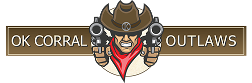OK Corral Outlaws Cowboy Action Shooting Club Logo
